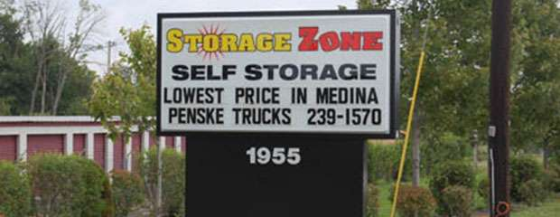 Storage Zone Self Storage brand logo in Medina, OH